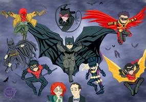 Batman Family  by ChristianStrange3