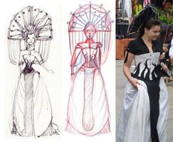 Graduation Dress by OLIVESELKIE