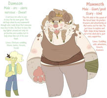 Dameon and Mammoth