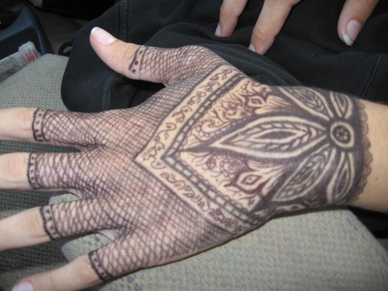 Sharpie Henna by sunfoot