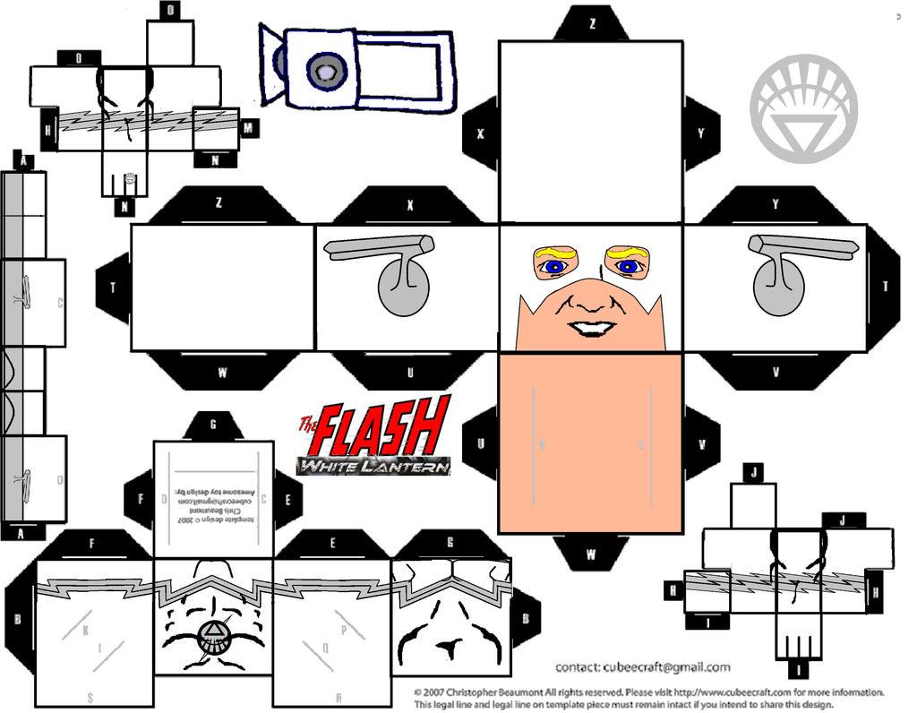Flash White Lantern by riggodruid on DeviantArt