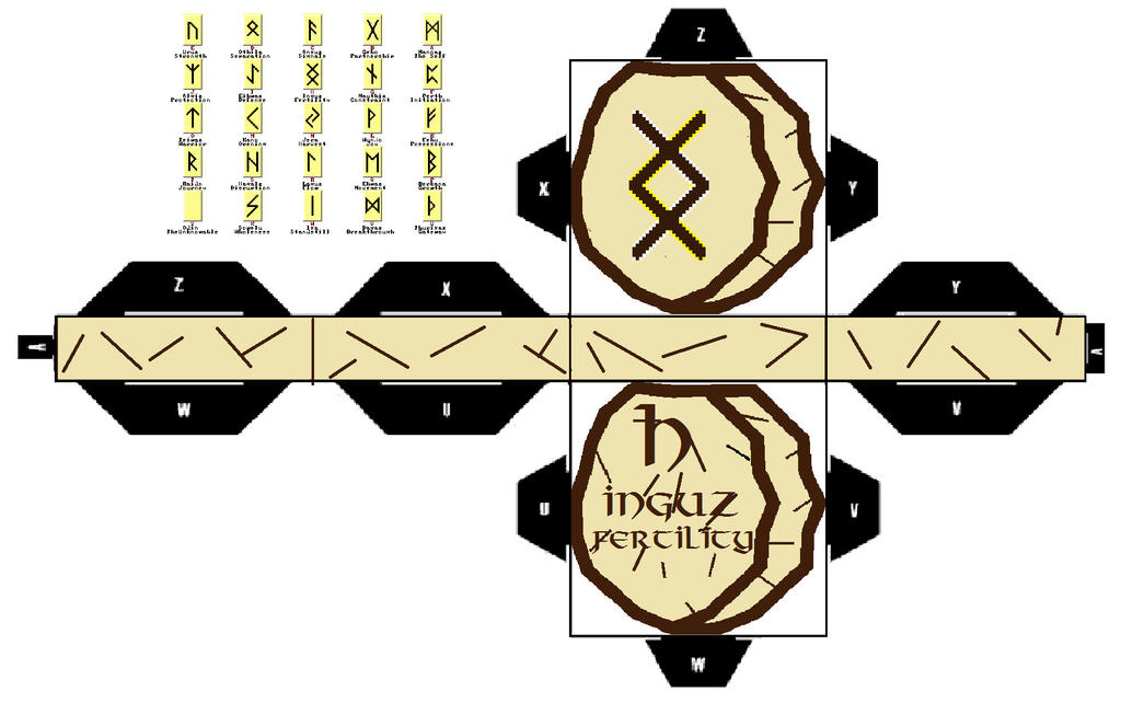 H Inguz Viking Rune By Riggodruid On Deviantart