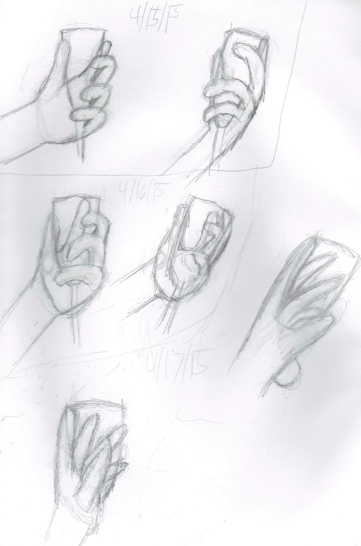 04/15/2015 to 04/17/2015: mo hands holding things by Madtaz64