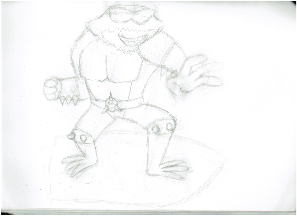 06/21/15-06/23/15: Dickhiskhan Battletoads Sketch by Madtaz64