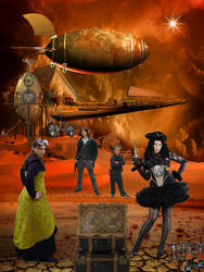 Travelers into the Unknown ( Steampunk )