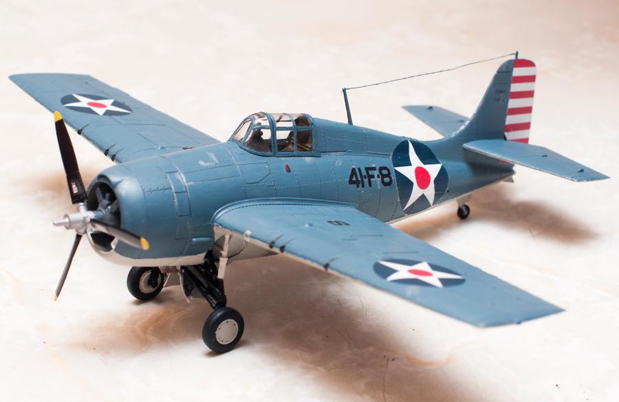 Grumman F F Wildcat Completed By Aeisnor D Rixc on Grumman F4f Wildcat Paint