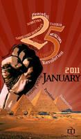 25 january revolution by kenzymedo