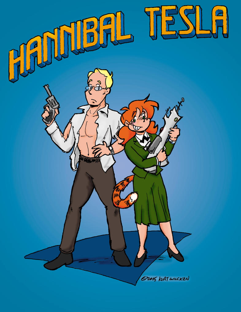 Hannibal and Ginger by kurtoons