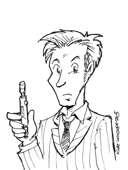 Doctor Who Sketch by kurtoons