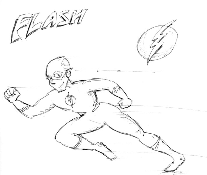 Flash by kurtoons