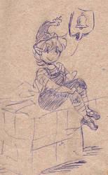 Christmas Elf sketch