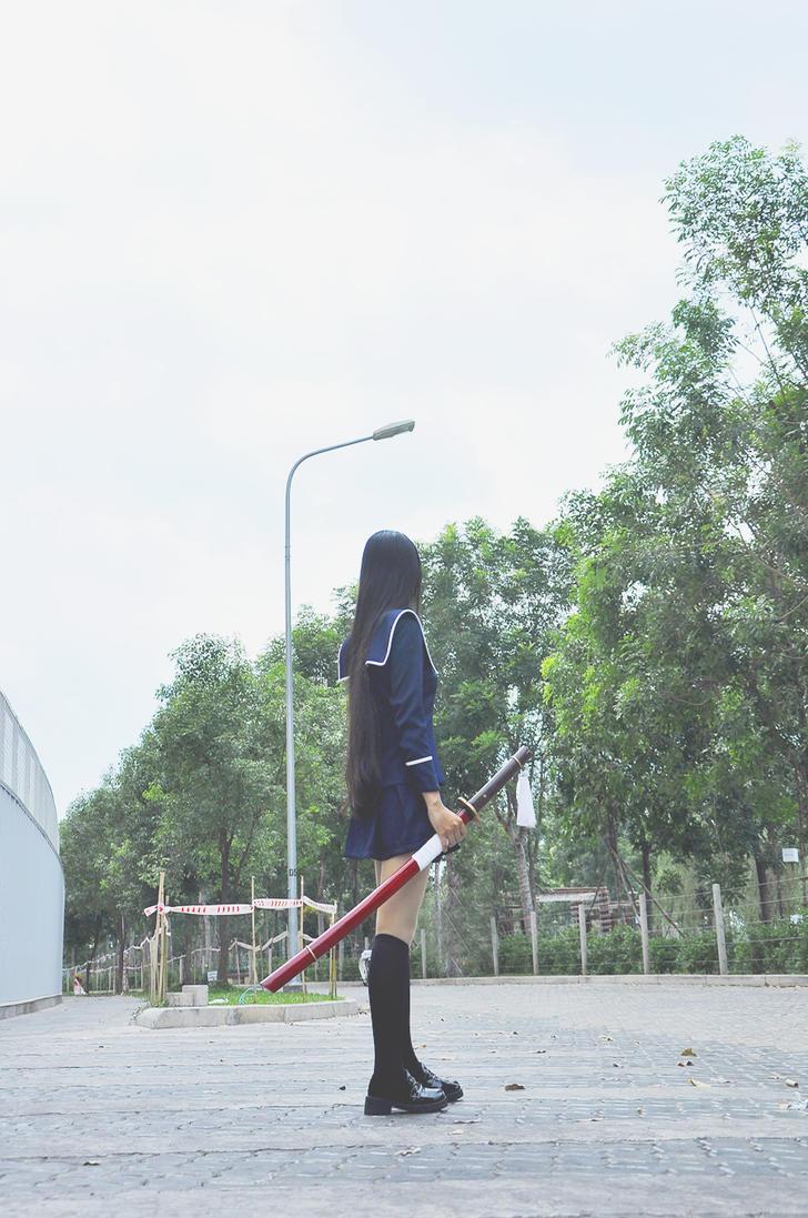 [Cosplay] Ga-rei: Zero - Isayama Yomi by JenLusei
