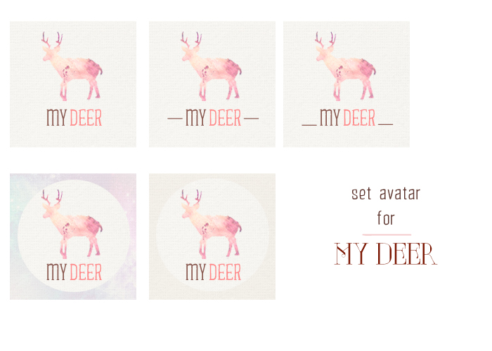 Design|Avatar for My Deer by JenLusei