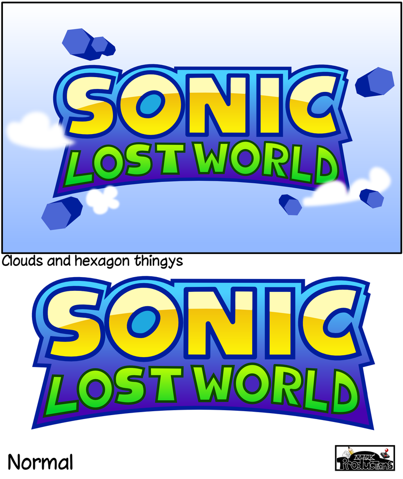 sonic lost world logo design by markproductions on