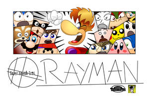 Rayman 4 Smash by MarkProductions