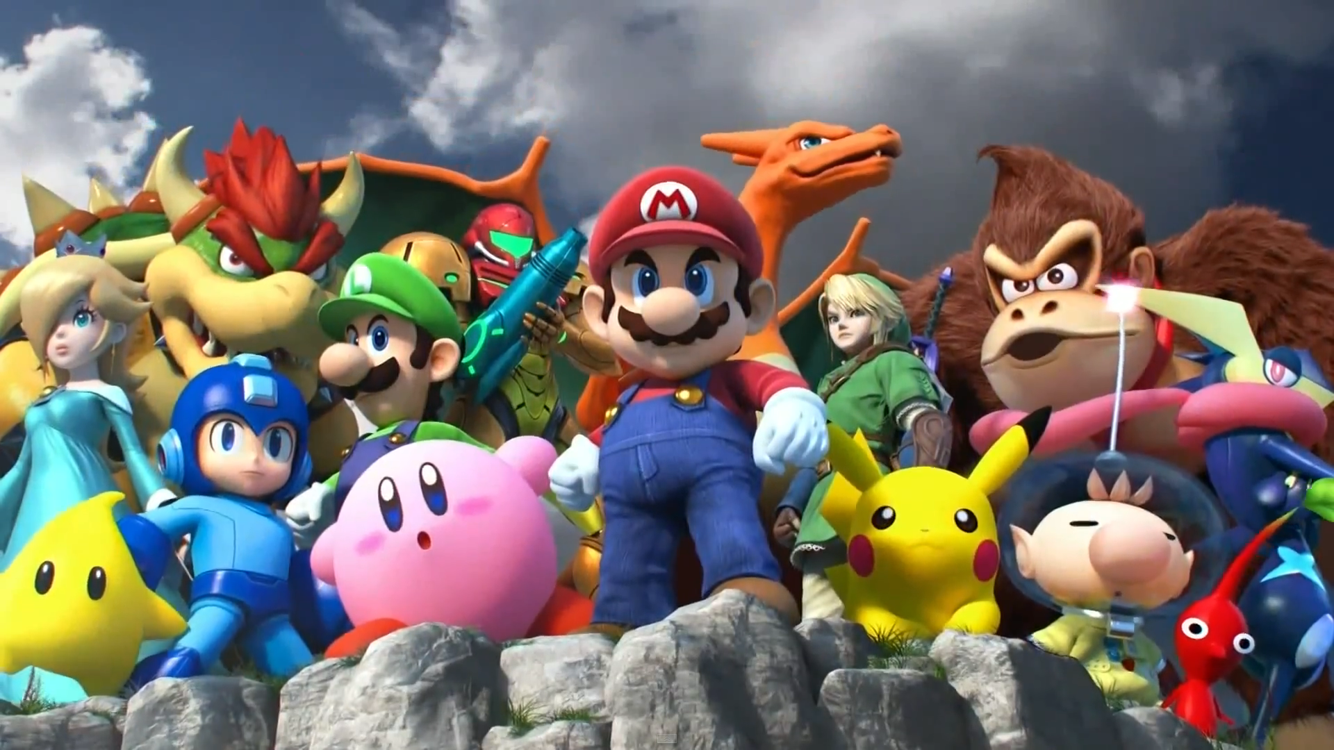 Super Smash Bros 3Ds Commercial Wallpaper