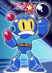 'Blue Bomber!' - [Mega Man / Bomberman crossover]