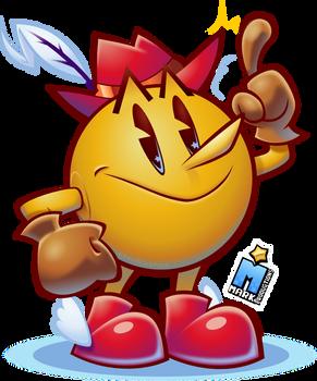 PAC-LAND FEVER [Pac-Man Fanart]