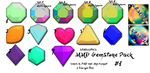 :MMD GemStone Pack#1: Download by LilMissLillie