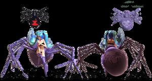 .:MMD DL:. TDA Arachne Base by LilMissLillie