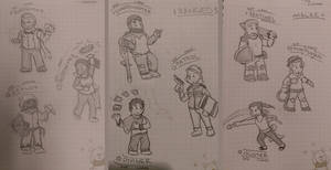 Fantactic Frontier Character Ideas