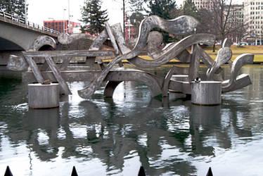 Sculpture Walk- (13 of 20) Centennial Sculpture