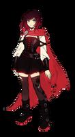 Ruby Rose Concept Art Render by asinnamonroll