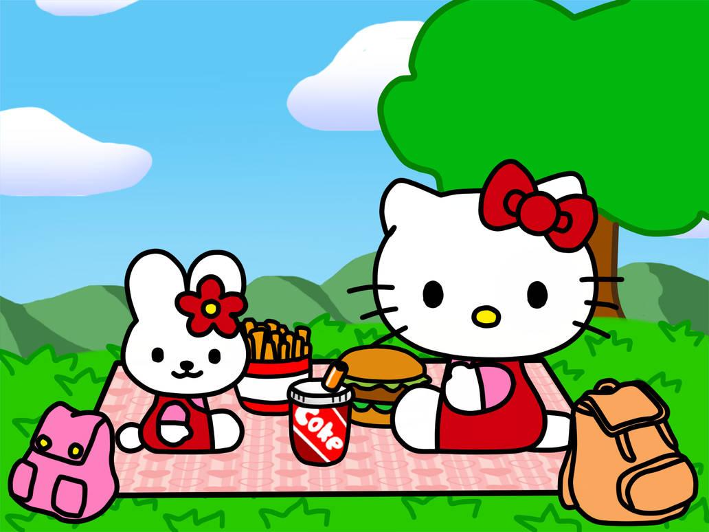 8b11e13b1 Cathy Bunny and Hello Kitty by Kittykun123 on DeviantArt