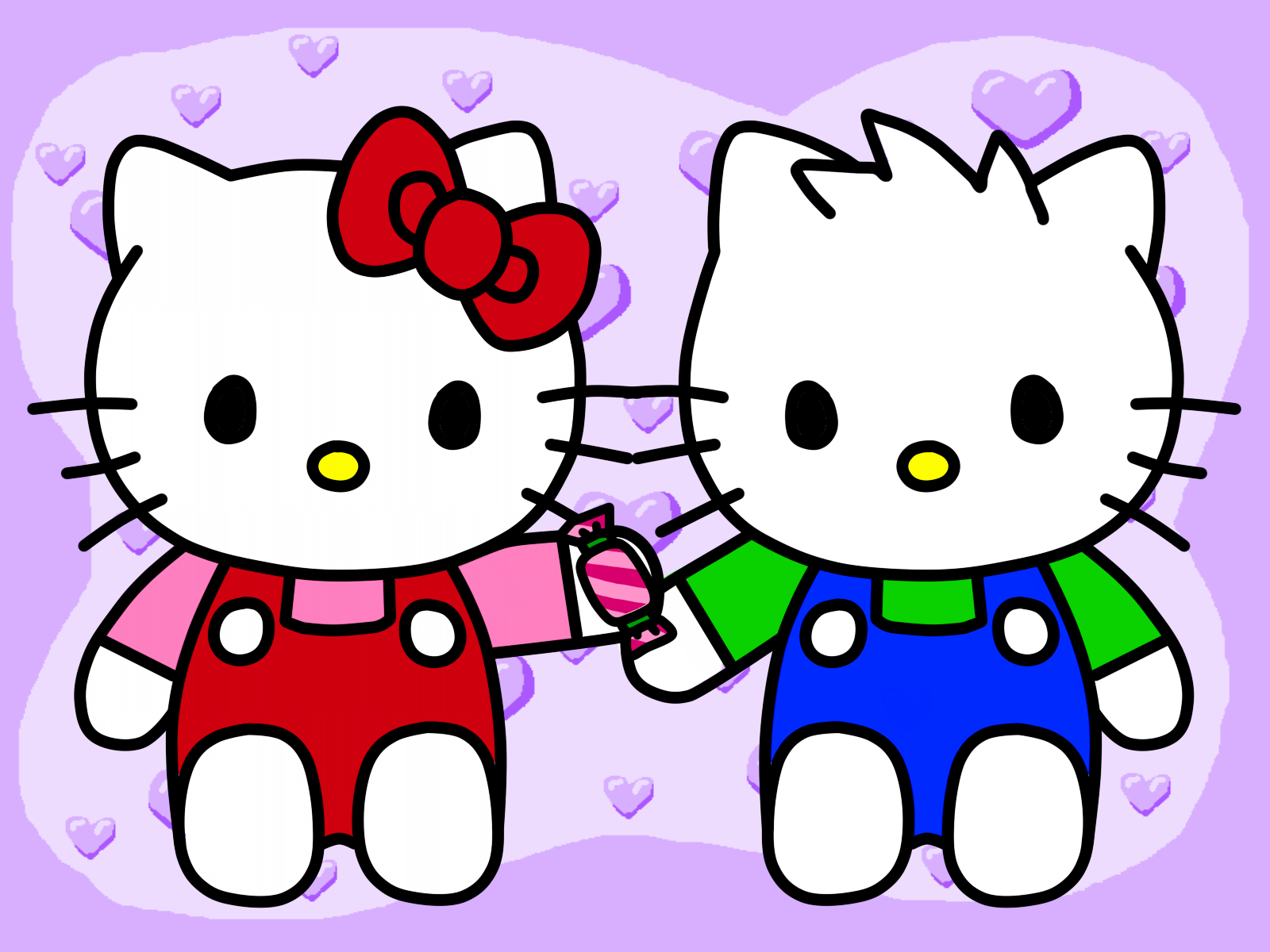 Download Wallpaper Hello Kitty Coffee - hello_kitty_and_kitter_cats_by_kittykun123-dafhfq5  Photograph_901842.png