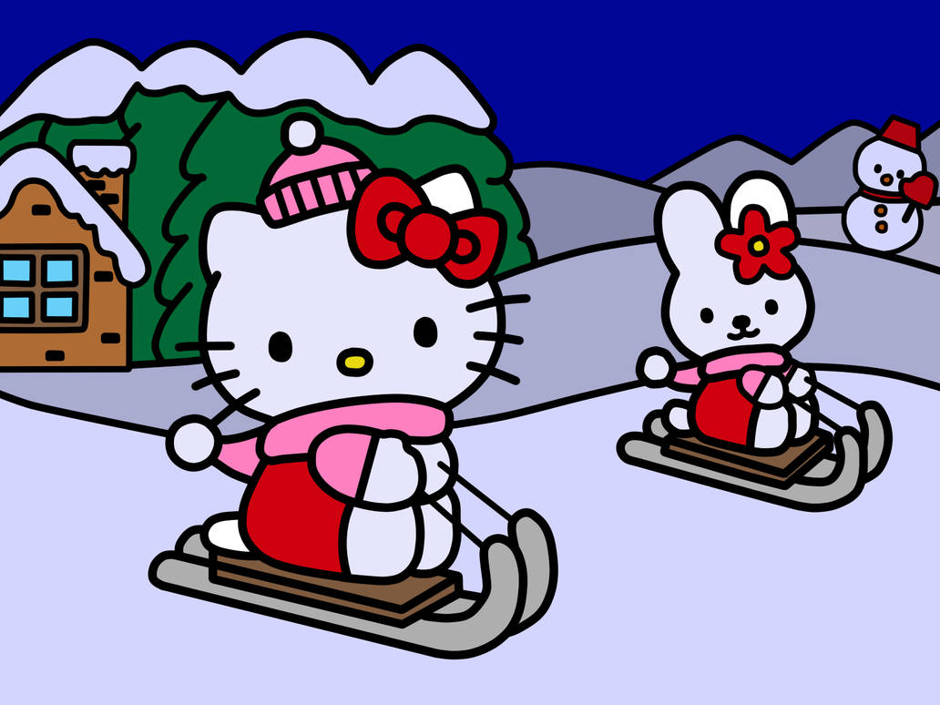 83f2f46fc Hello Kitty in Winter (Coloring Book) by Kittykun123 on DeviantArt