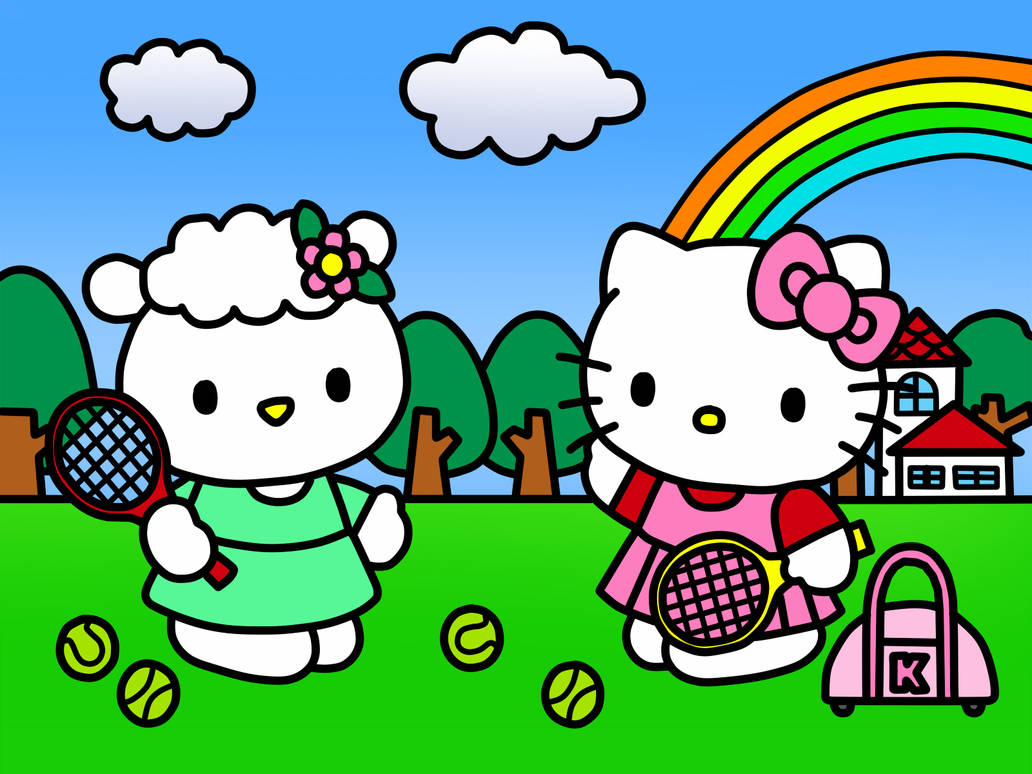 1c65162cd Play Tennis and Friends (Coloring Book) by Kittykun123 on DeviantArt