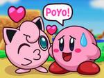 Jigglypuff Kiss Kirby