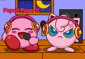 Mike Kirby and Jigglypuff by Kittykun123
