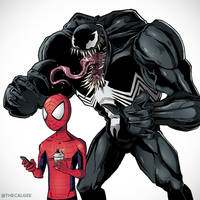 Sneaky Symbiote by thecalgee