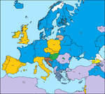 map in different european languages