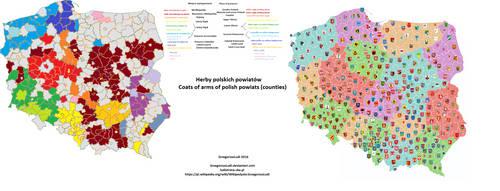Herby Polski / Coats of Arms of Poland by GrzegorzusLudi