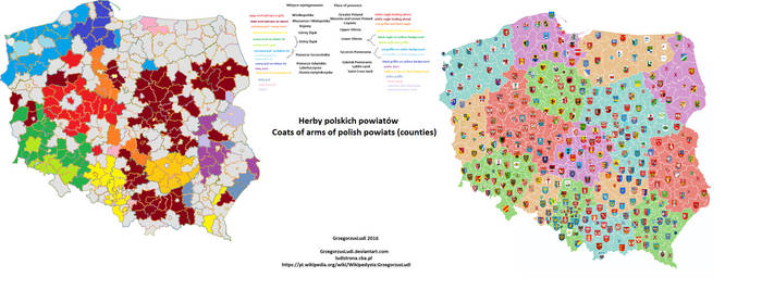 Herby Polski / Coats of Arms of Poland