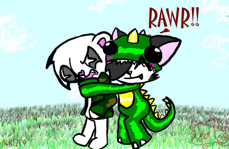 rawr means i luv u in dinosaur by ThreeInTheMornin on ...