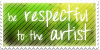 Respect stamp by Louvy