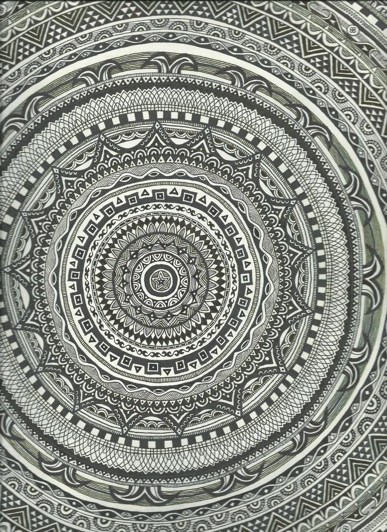 Large Mandala (majority of it) by KingOfSoul81