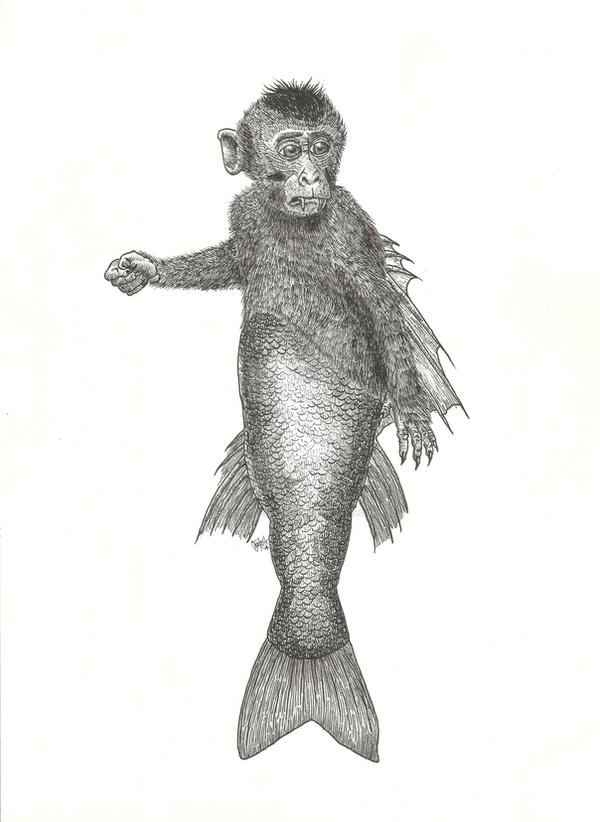 Fiji Mermaid by KingOfSoul81