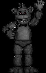 (FNaF) The Fourth Closet Classic Freddy