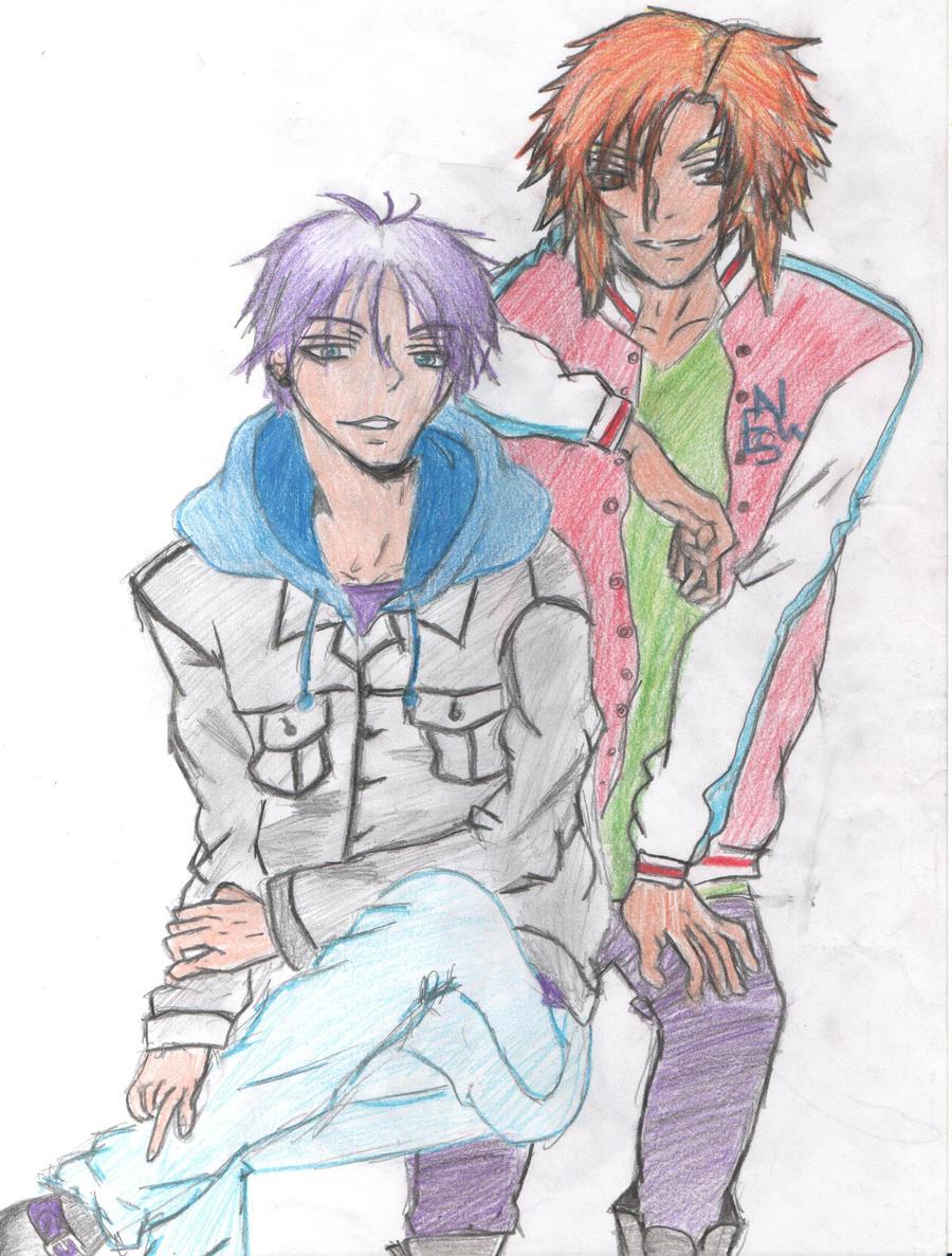 Haruki and Ren by Yukina-Kiri