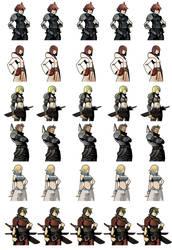 Game Sprites Commission