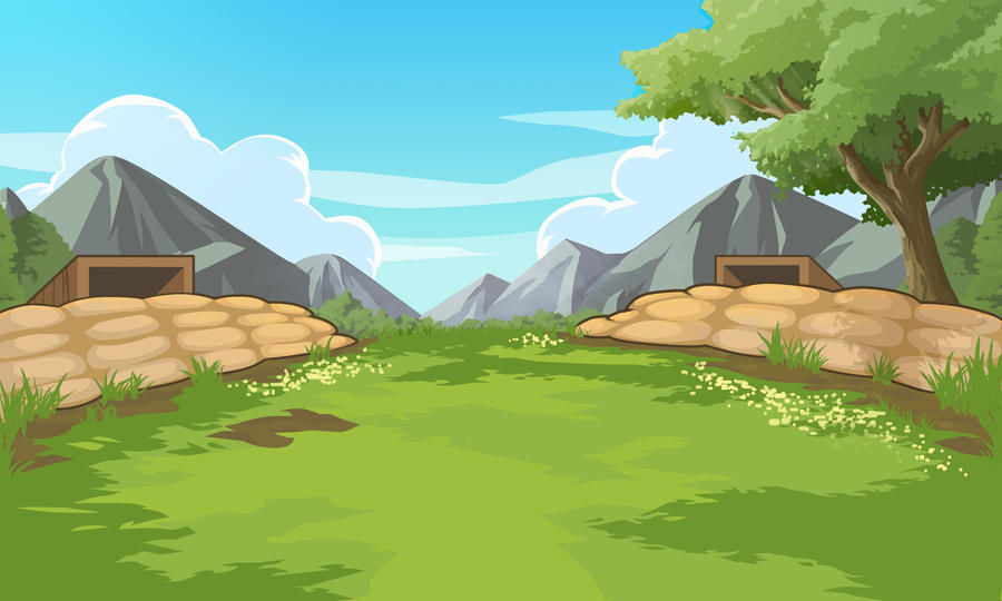 Mobile game background by disnie on deviantart - 2d nature wallpapers ...