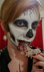 Skull Makeup *Contest Entry*