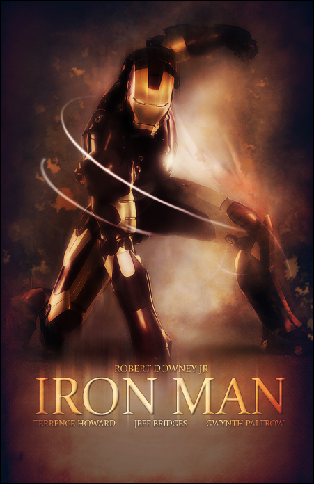 Iron Man Concept Poster by SaintMichael
