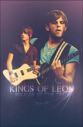 King Of Leon Poster by SaintMichael