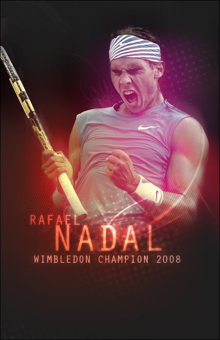 Rafael Nadal Poster By Saintmichael On Deviantart