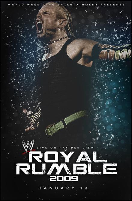 WWE Royal Rumble 2009 Poster by SaintMichael